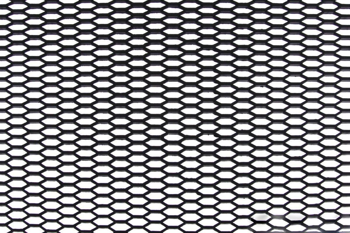 SIATKA ABS HONEY COMB BLACK 120 * 40cm - GRUBYGARAGE - Sklep Tuningowy